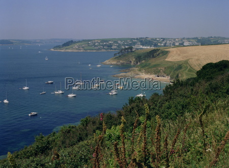 st mawes mouth of river fal