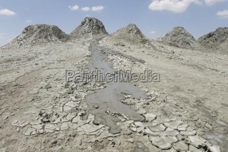aktywny przeplyw blota z linii wulkanow