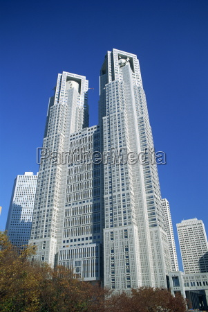 the new tokyo city hall in