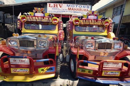 para niestandardowych ciezarowek jeepney wszechobecny w