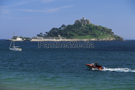 st michaels mount cornwall england united
