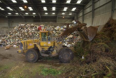 sklad odpadow anglia wielka brytania europa