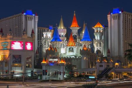 excalibur hotel and casinolas vegasnevadastany zjednoczone