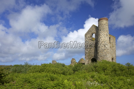 wheal reath ruined cornish tin mine