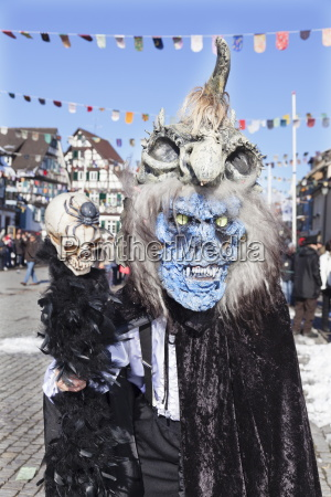 kostium potwora fantasy szwabii elsatian carnival