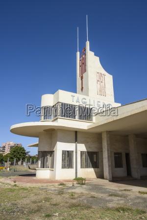 fiat tagliero building asmara capital of