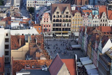 wroclaw stare miasto rynek stare kamienice