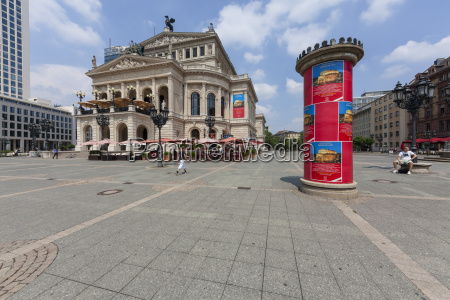 germany hesse frankfurt opera house