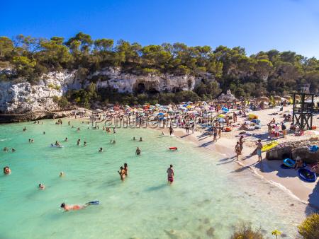 spain majorca beach of cala llombarts