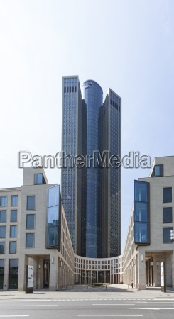 germany hesse frankfurt tower 185