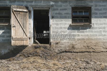 gospodarstwo rolnictwo architektura brama fragment portal