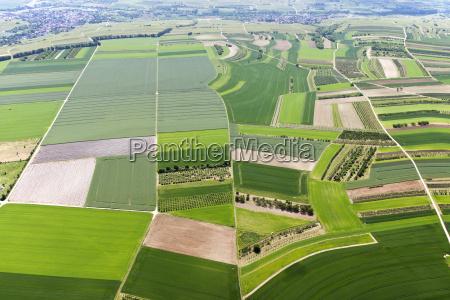 gospodarstwo rolnictwo architektura pole niemcy republika