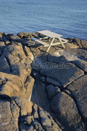 jazda podrozowanie szwecja wieczor woda morze