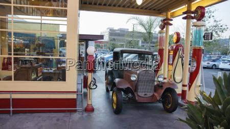 usa kalifornia los angeles vintage samochod