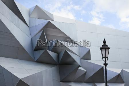 germany baveria munich modern architecture at