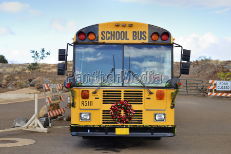 usa hawaje maui lahaina uroczysty autobus