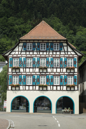 germany baden wuerttemberg half timbered house