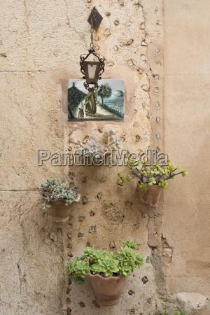 hiszpania majorka valldemossa gliniany wiszacy kosz