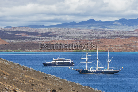 pacific ocean sailing ship and cruise