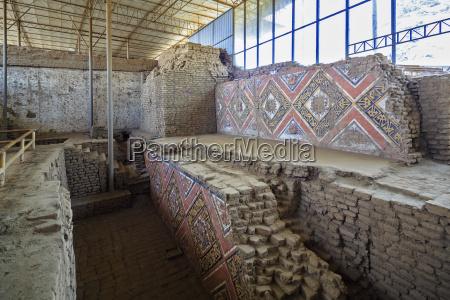 peru trujillo ruins of the huaca