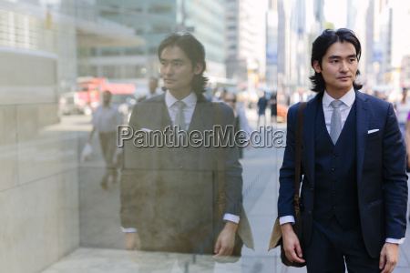 usa new york city elegant businessman