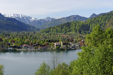 germany view of rottach egern near