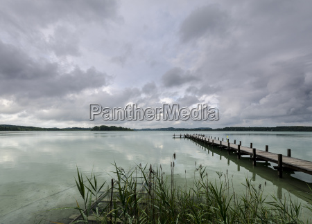 germany bavaria lake woerthsee