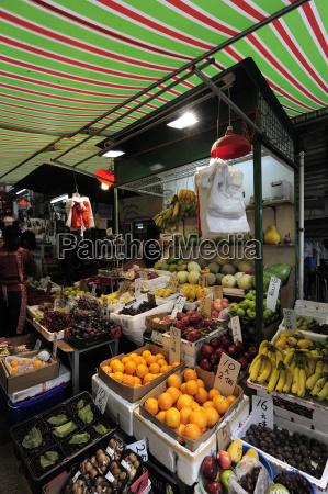 chiny hong kong owoce i warzywa