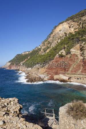 spain mallorca view of harbour and