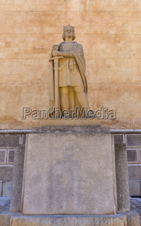spain balearic islands menorca mao statue