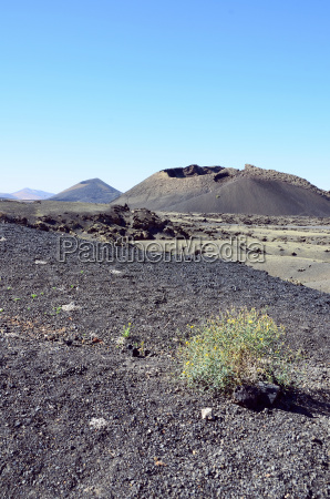 hiszpania widok na naturalny park wulkanow