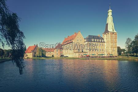 germany north rhine westphalia raesfeld castle