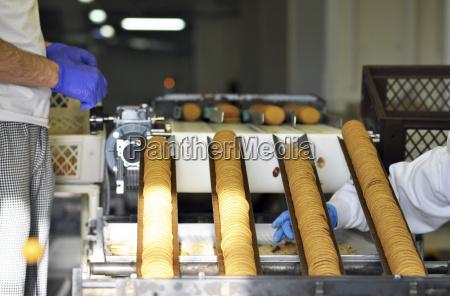 niemcy przemysl spozywczy produkcja ciastek w