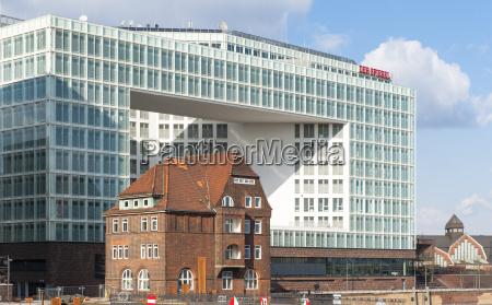germany hamburg view to new building