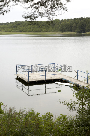 germany brandenburg view of lake