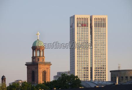 germany hesse frankfurt st pauls church