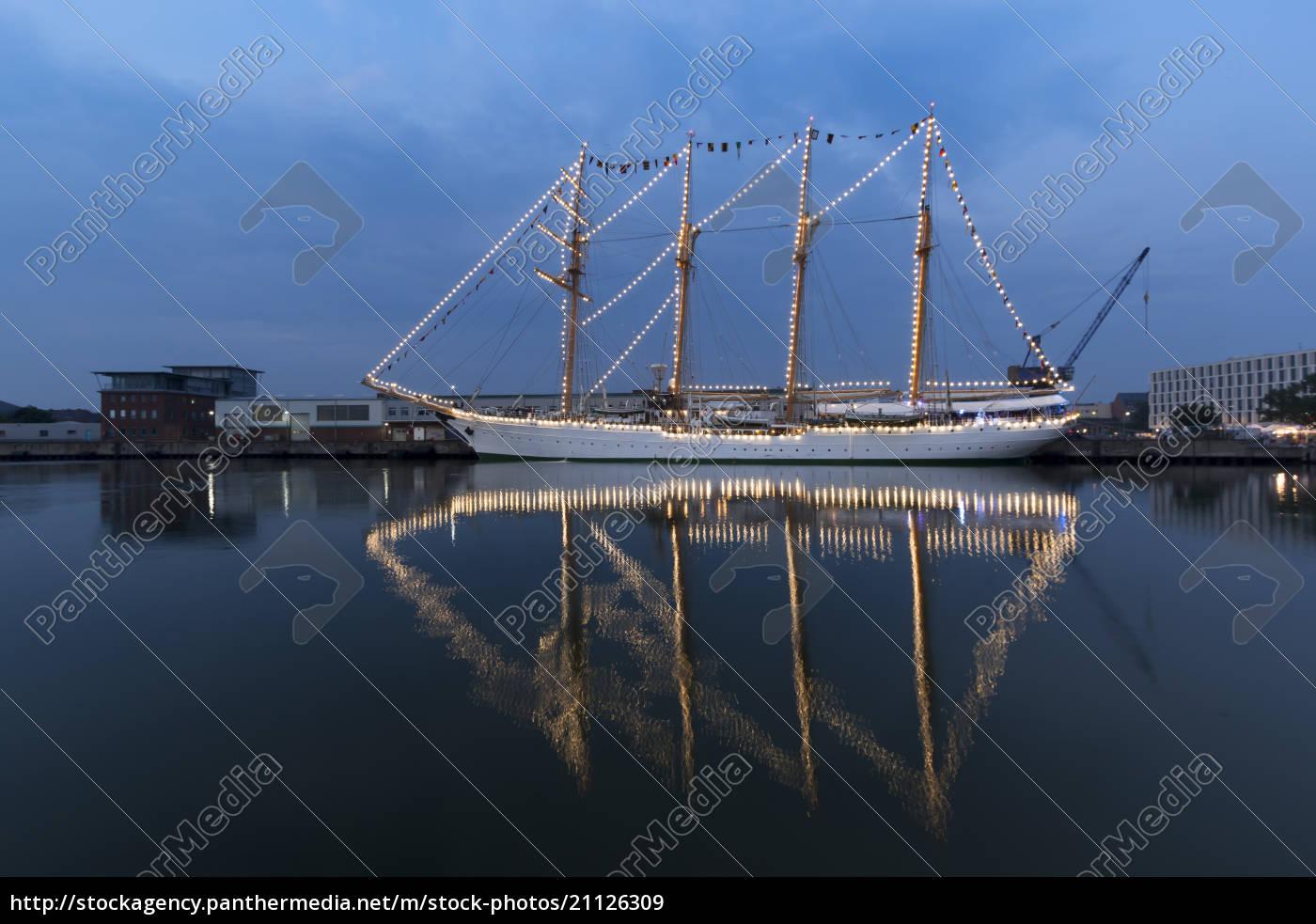 germany, , bremerhaven, , sailing, ship, at, the - 21126309