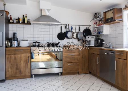 kuchnia w penthouse mieszkanie