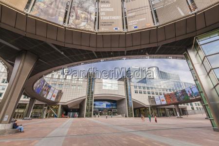 belgia bruksela parlament europejski w dzielnicy