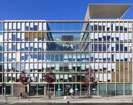germany hesse frankfurt european quarter modern