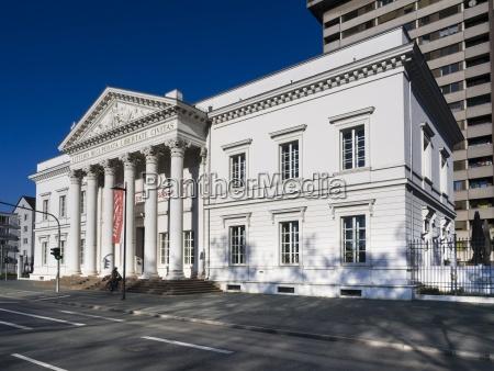 germany hesse frankfurt house of literature