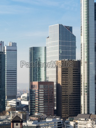 germany hesse frankfurt financial district
