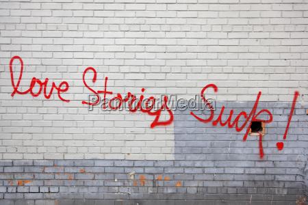 usa new york text on brick