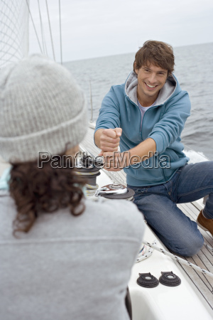 germany baltic sea luebecker bucht young