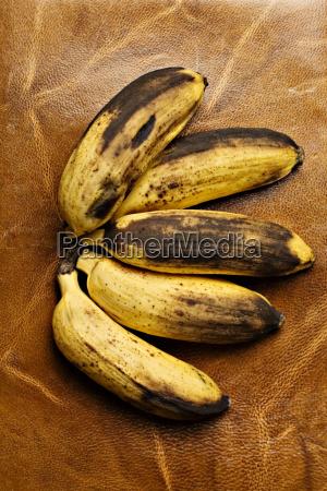 banany z bliska
