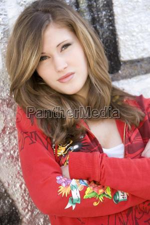 teenage girl 17 portrait