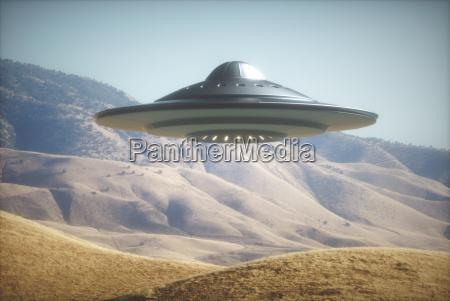 kosmiczny statek kosmiczny na ziemi