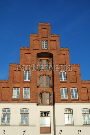 house in luebeck old town