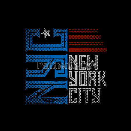 new york typographic design