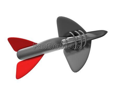 wojsko rakieta wybuchowych leitwerk granat strzalka